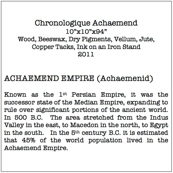 Chron Achaemend Description